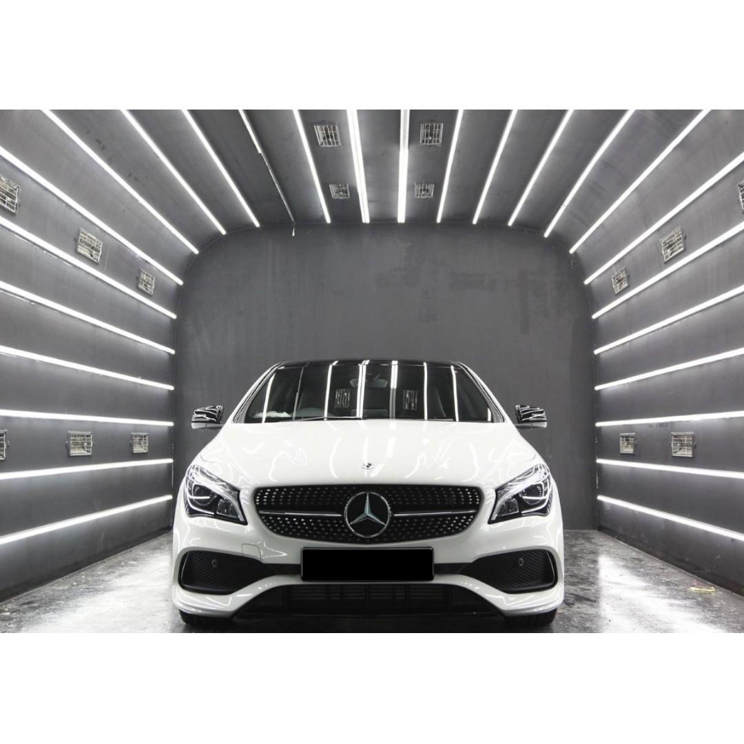 New Mercedes Benz With Driver For Wedding / Photoshoot