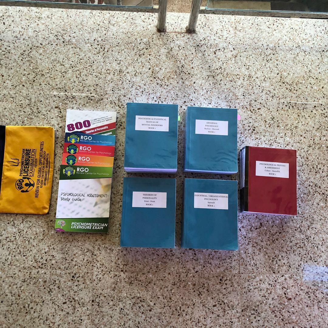 BUNDLE 2: 5 PSYCH BOOKS + RGO KIT COMPLETE |PSYCHOMETRICIAN | READ DESCRIPTION