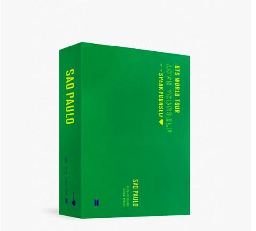 [DVD] BTS - BTS WORLD TOUR 'LOVE YOURSELF : SPEAK YOURSELF' SAO PAULO DVD