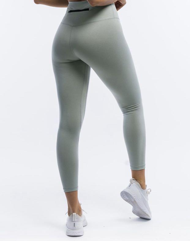 Echt Force High Waisted Leggings V2 Heather Grey XS 6