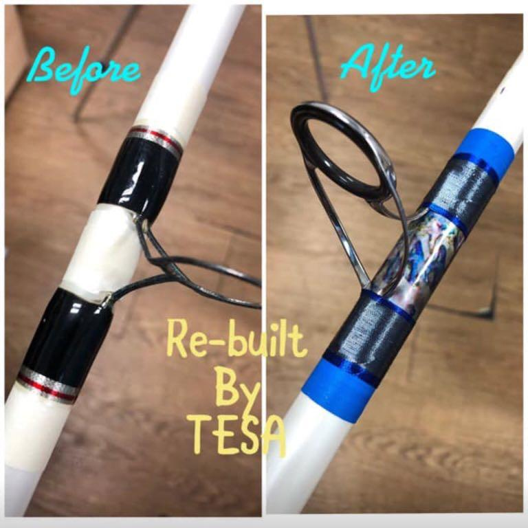 Fishing Rod Repair