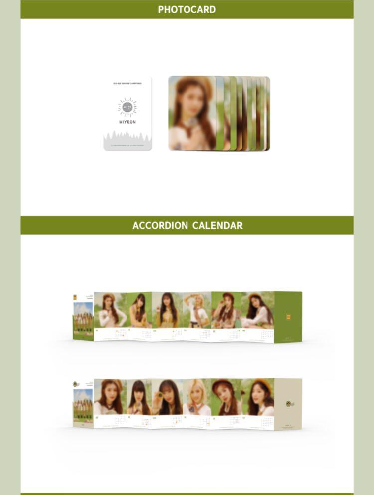 (G)I-DLE 2020 Season Greeting  ✔️Second payment needed pls read in the details