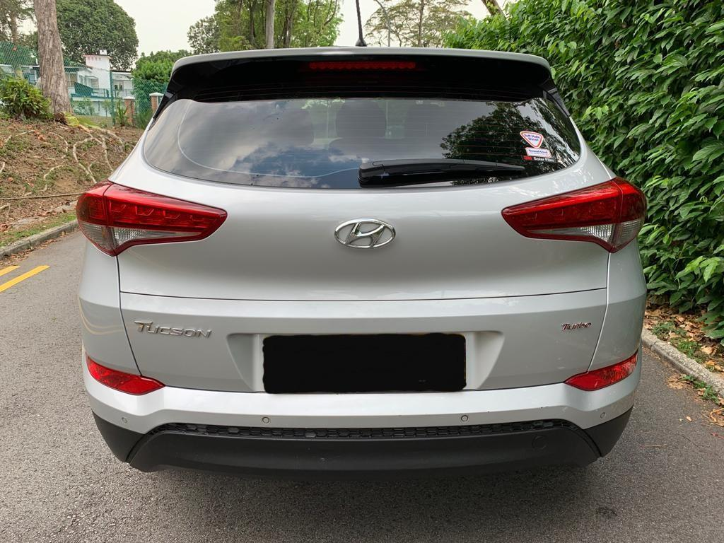 Hyundai Tucson 1.6 GLS DCT Turbo (A)