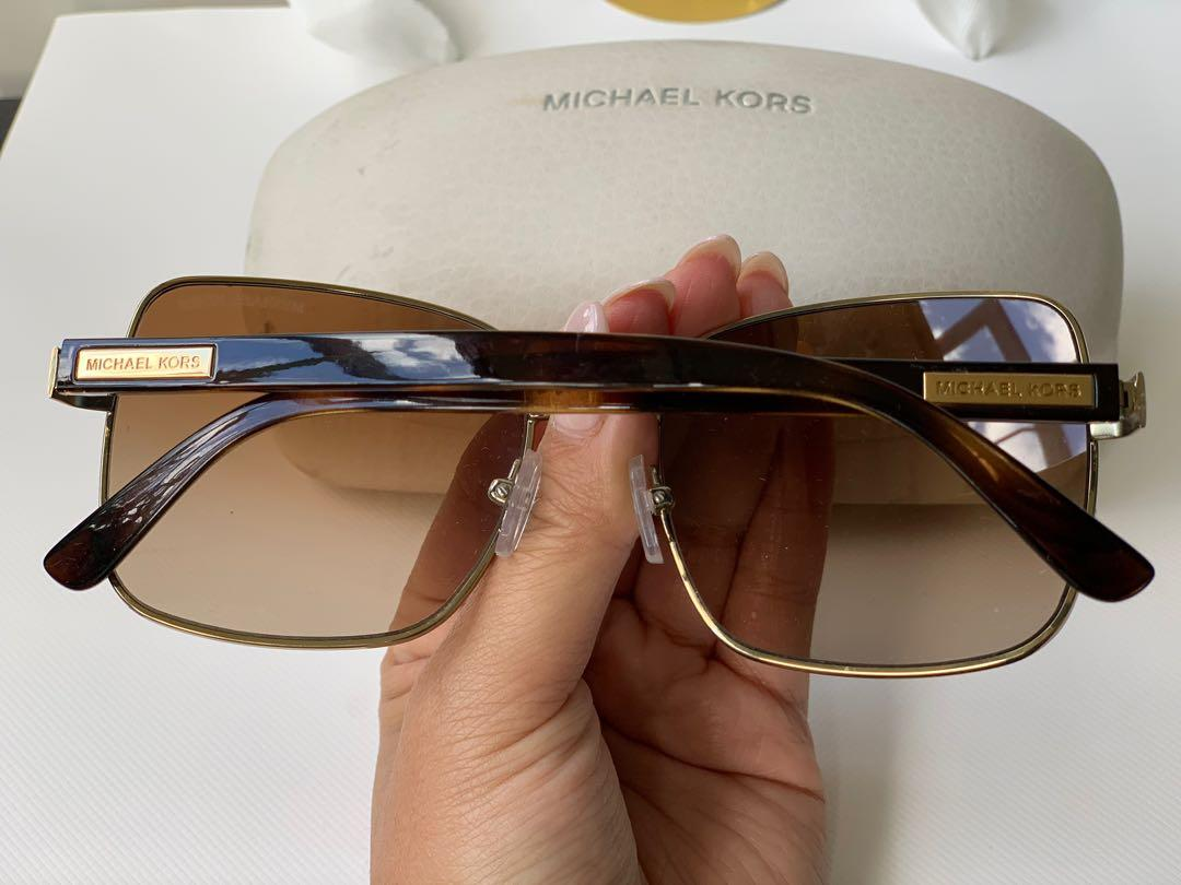 MICHAEL KORS | HANALEI BAY SUNGLASSES | Gold / Brown