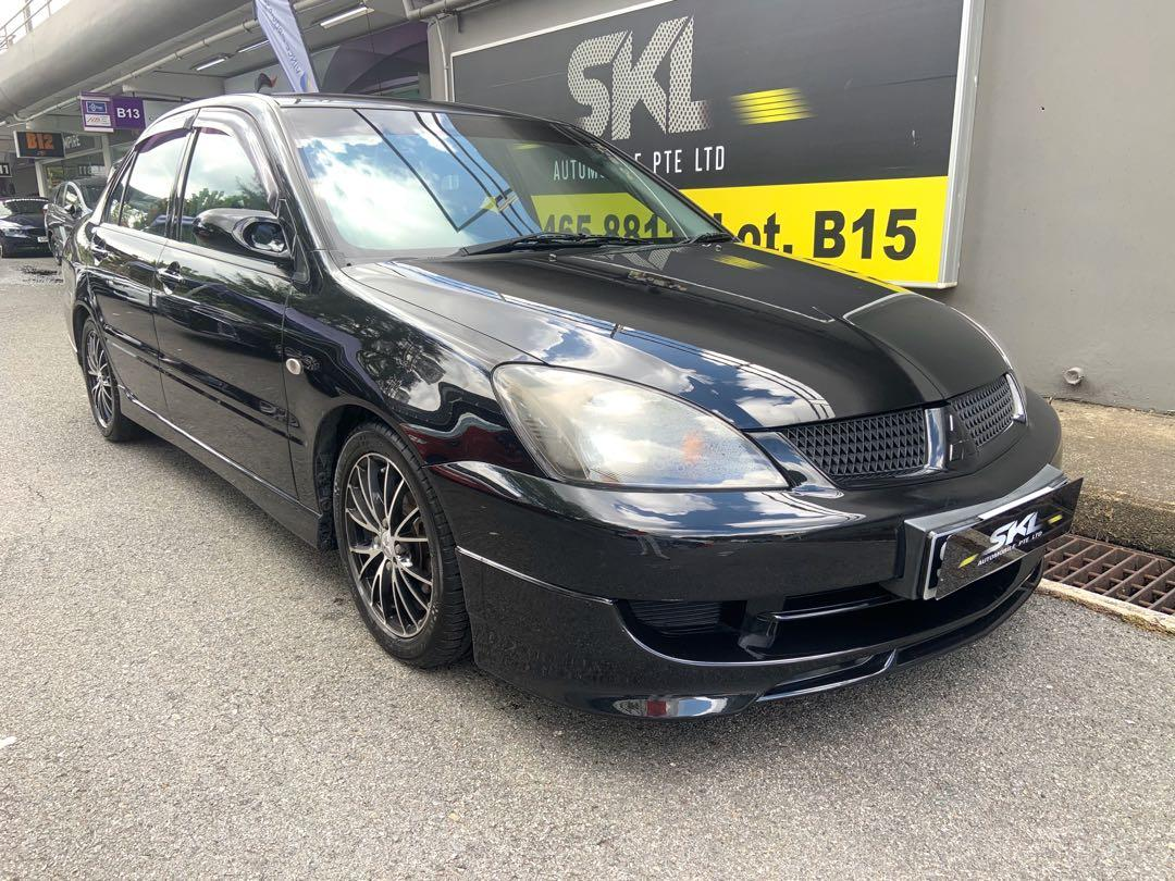 Mitsubishi Lancer 1.6M GLX  Manual