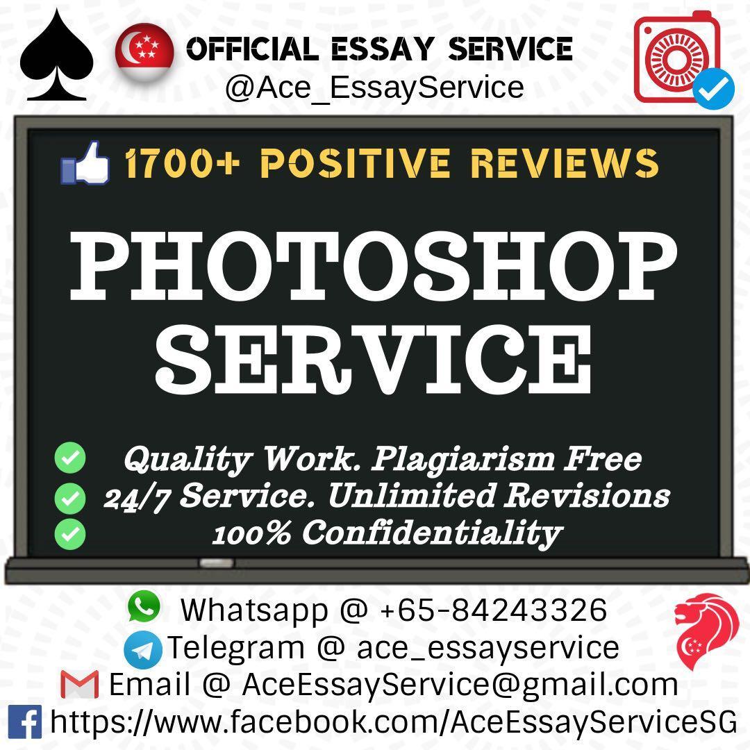 Photoshop Service 📊🖥💻                                       Assignment Essay