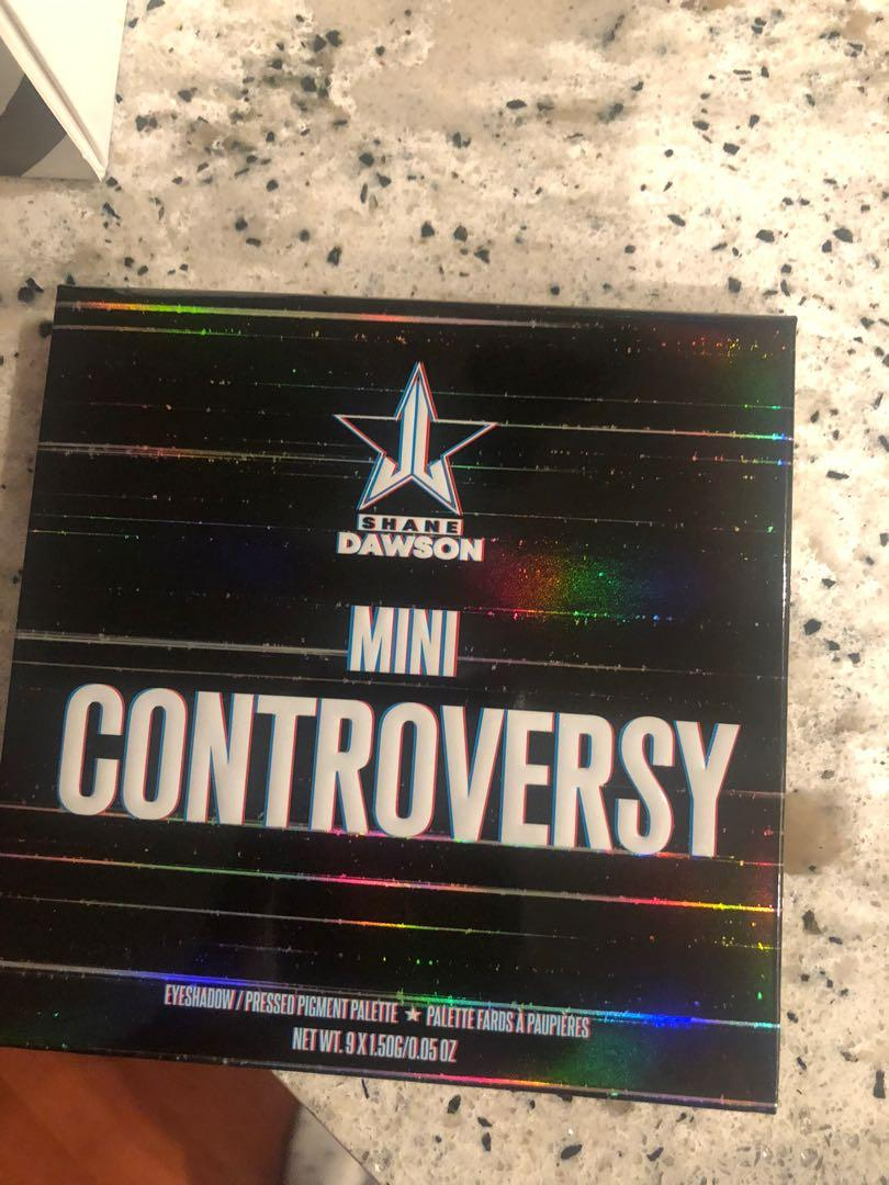 Shane Dawson x Jeffree Star Conspiracy and Mini Controversy palettes
