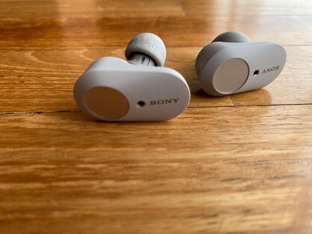 Sony WF1000 XM3 wireless noise canceling earphones