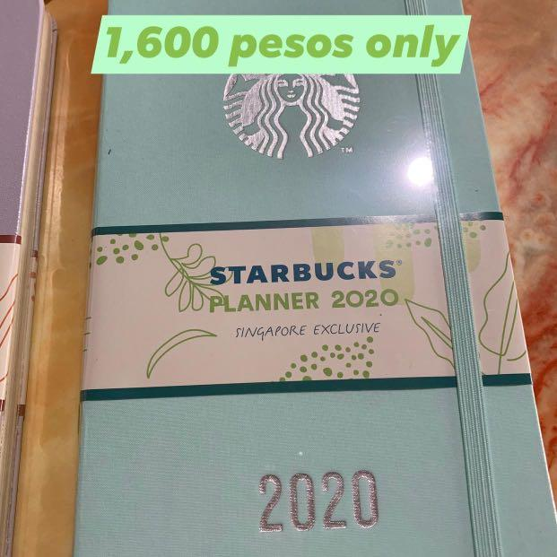 Last minute Xmas Gift Idea: Starbucks 2020 Planner Singapore Exclusive #2020planner