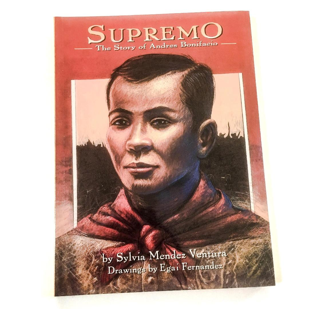 Supremo : The Story of Andres Bonifacio | English | Tahanan Books | Children's Book