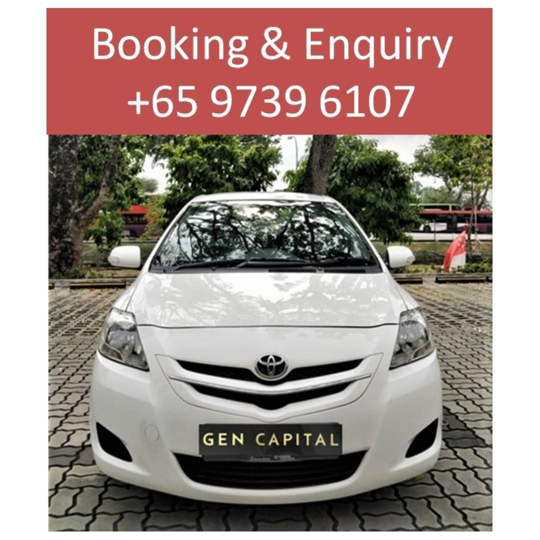 Toyota Vios - Lowest rental rates, with the friendliest service! @!97396107