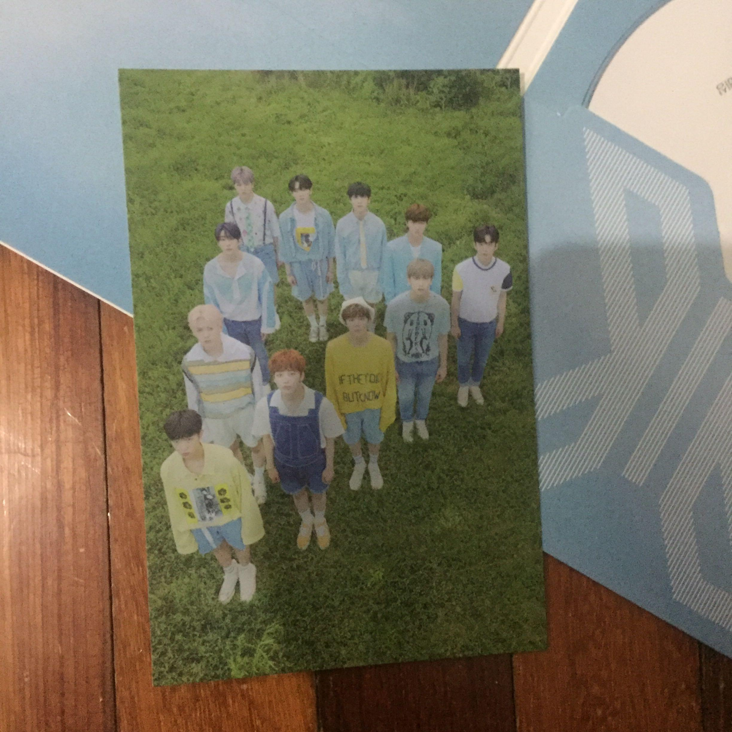[WTS] X1 1st Mini Album 비상 (Bisang) White Version with Dohyun Standee