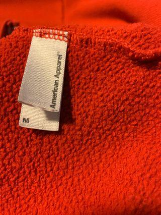 American apparel zip up
