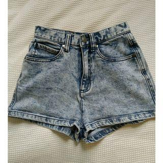 Afends denim shorts