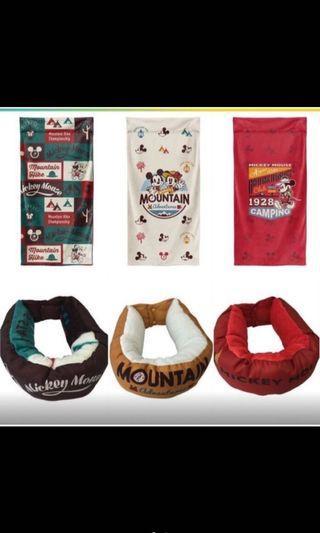 米奇頸枕➕毯子
