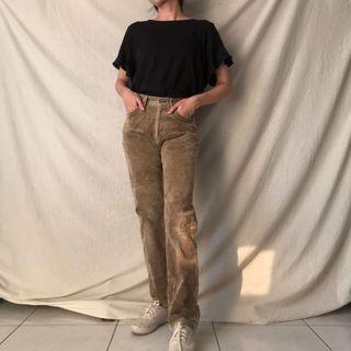 Uniqlo Corduroy Pants Celana Vintage Thrift Shop Thriftshop