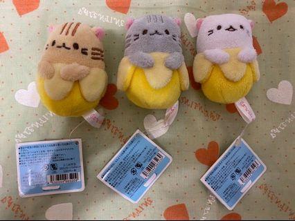 日本 香蕉皮貓咪