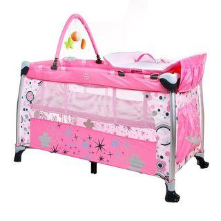 Fillikid baby playpen/cot with mattress