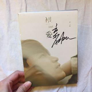 楊宗緯 初愛 親筆簽名專輯CD