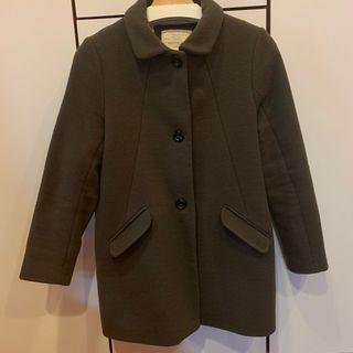 Zara 羊毛大衣 164cm