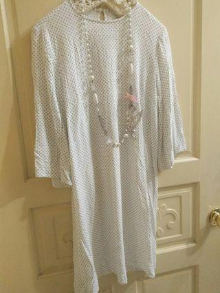 H&M 瑞典品牌 全新純棉連身洋裝