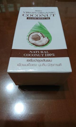 Mistine virgin organic coconut hair serum35ml