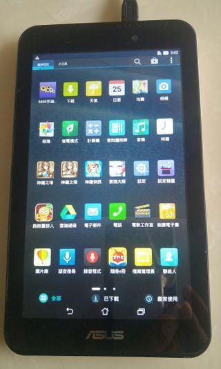 Asus Fonepad 7 FE170 7 吋 平板電腦 Screen touch control has problem. Glass broken.