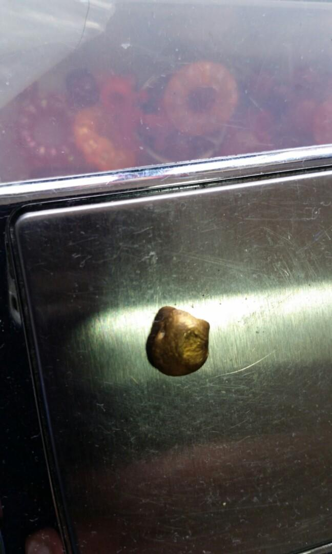 1.75 grams gold 30 years old found in the grampion