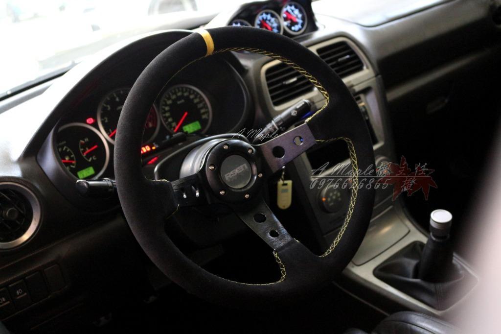 2006年 市場唯一 四門正鷹眼/豬鼻鯊 原廠暴龜 五速手排/粉專→A Maple橙奕(非EVO K12 lancer ST RS K8