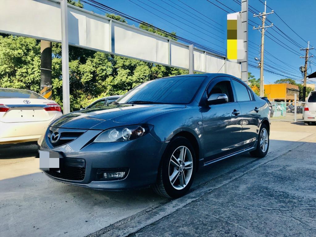 2007 Mazda 3 2.0s  小改款漂亮車 代步又帥帥的港覺🤩