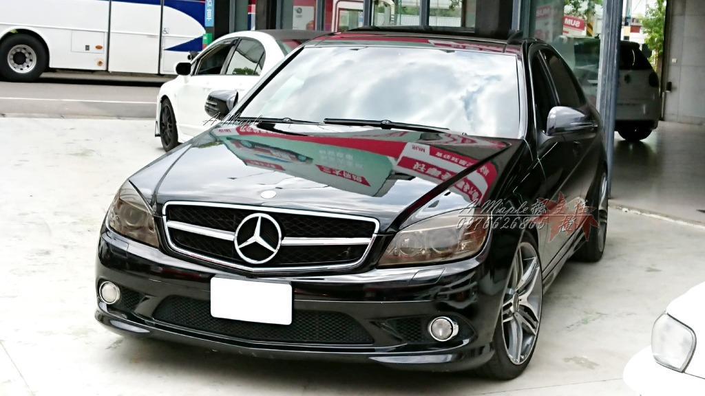 2008 C300 黑色 滿配 全景/大螢幕/AMG 四出排氣管/粉專→A Maple橙奕(非W205 C180 C63 C250