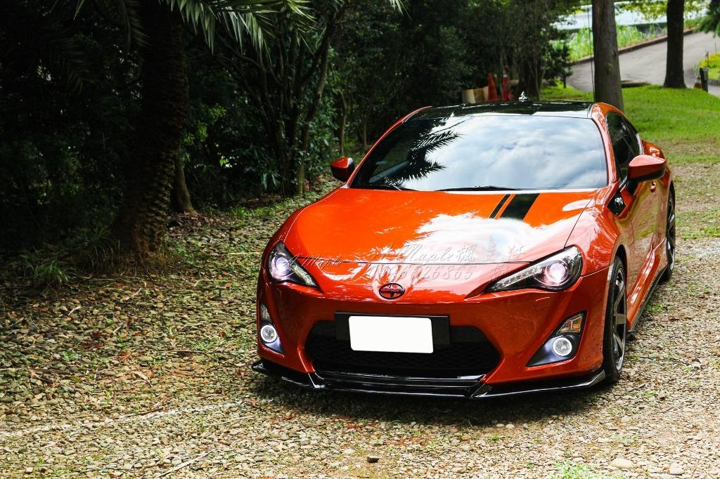2012年 GT86 精品改 AERO版 空力套件 聲浪排氣管 18吋鋁圈/粉專→A Maple橙奕(非BRZ FRS MX5 335 C250
