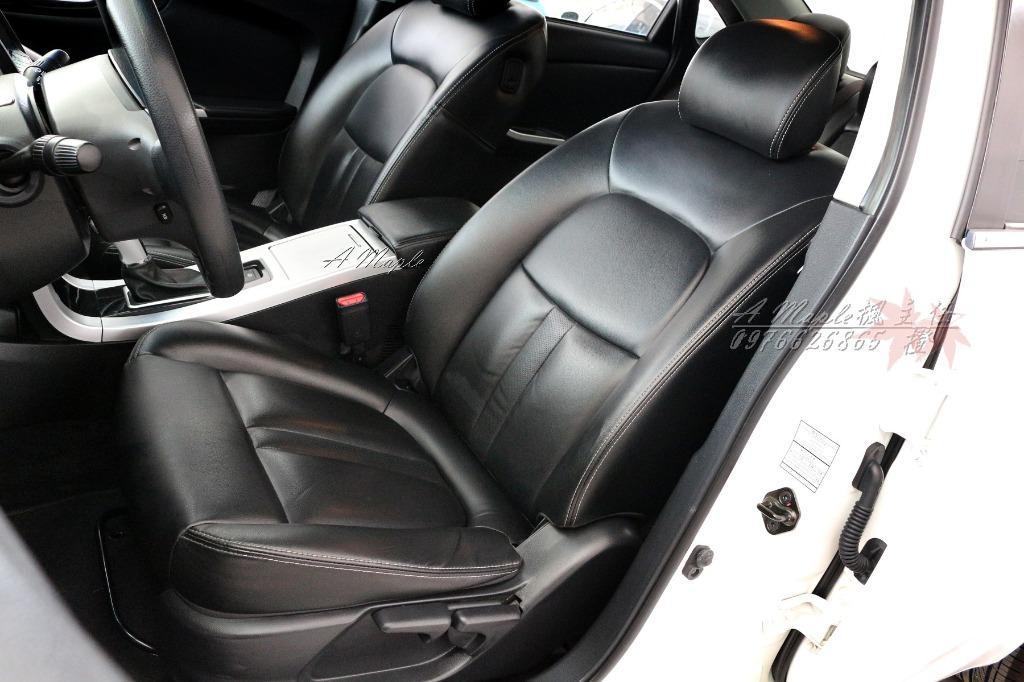 2012年 Luxgen S5 1.8 Turbo 白色 天窗/粉專→A Maple橙奕(非Camry lancer civic mazda
