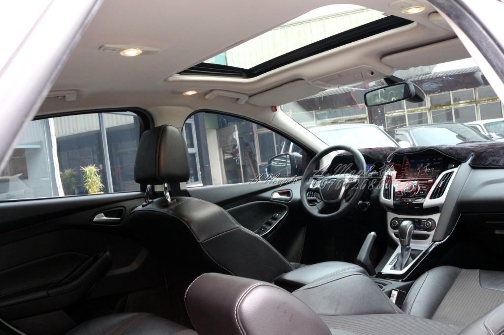 2013年 FORD FOCUS 白 2.0氣油 全車ST式樣 精品改裝/粉專→A Maple橙奕(非Mazda Altis k12 lancer