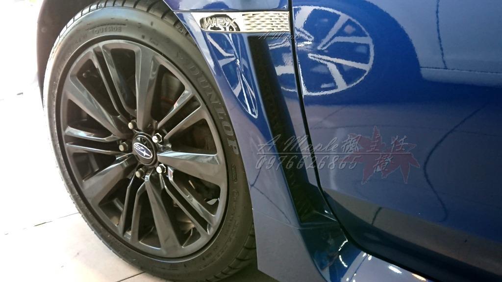 2014年 原廠深藍 Subaru WRX 2.0 渦輪 自排 原廠268hp馬力/粉專→A Maple橙奕(非STI IMPREZA 硬皮鯊 GC8