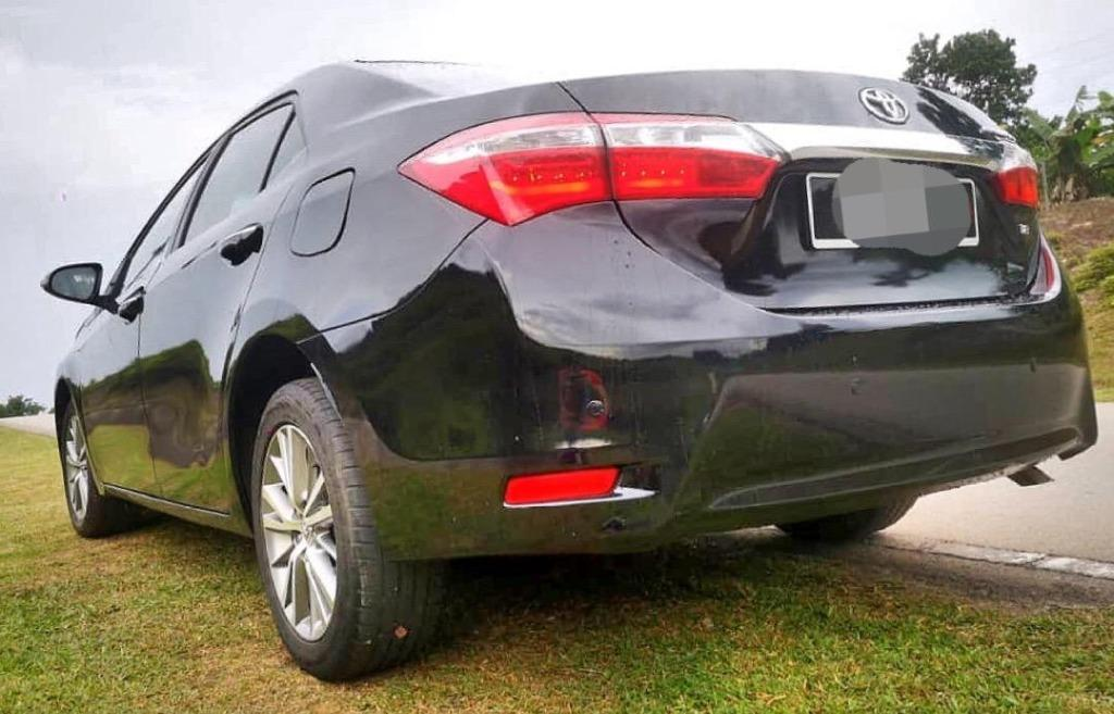 2015 Toyota COROLLA 1.8 ALTIS G (A) B/L LOAN KEDAI DP 3-5K