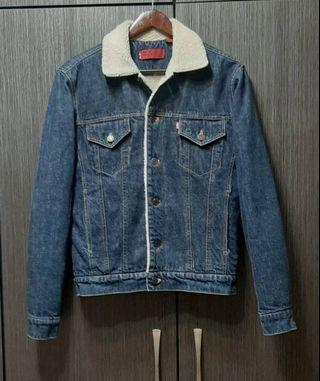 (韓國製)正品LEVIS RED TAB 男女可穿鋪棉牛仔外套S