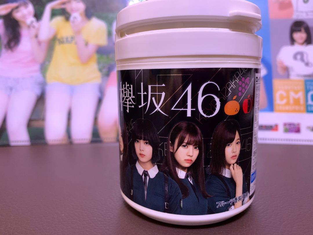 欅坂46 LOTTE膠罐 平手友梨奈 渡邊理佐 小林由依
