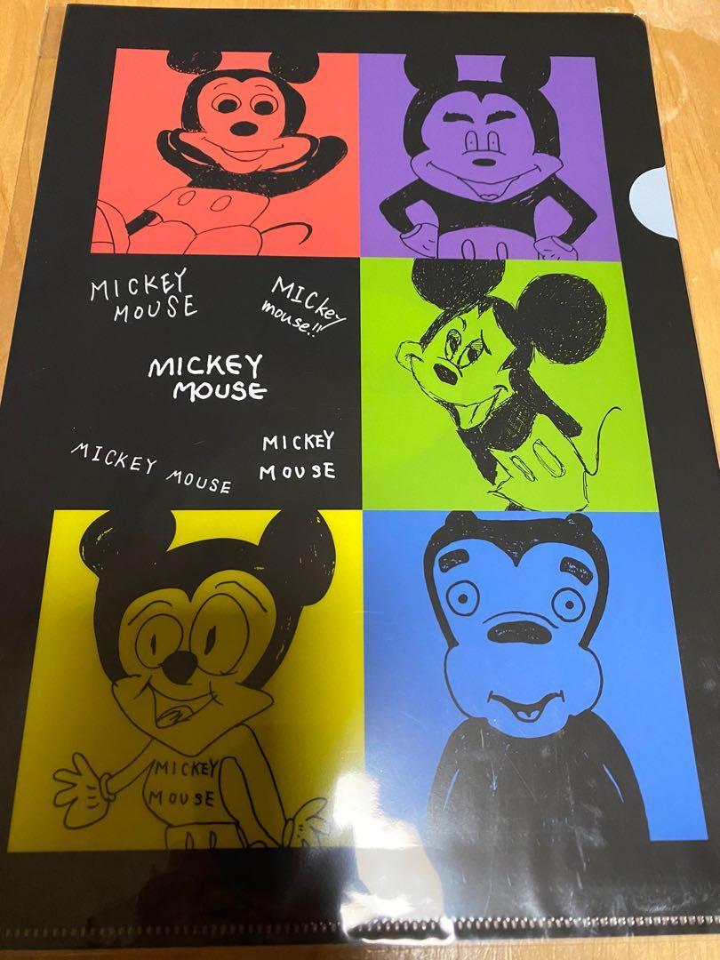 嵐展 goods Mickey file (黑)
