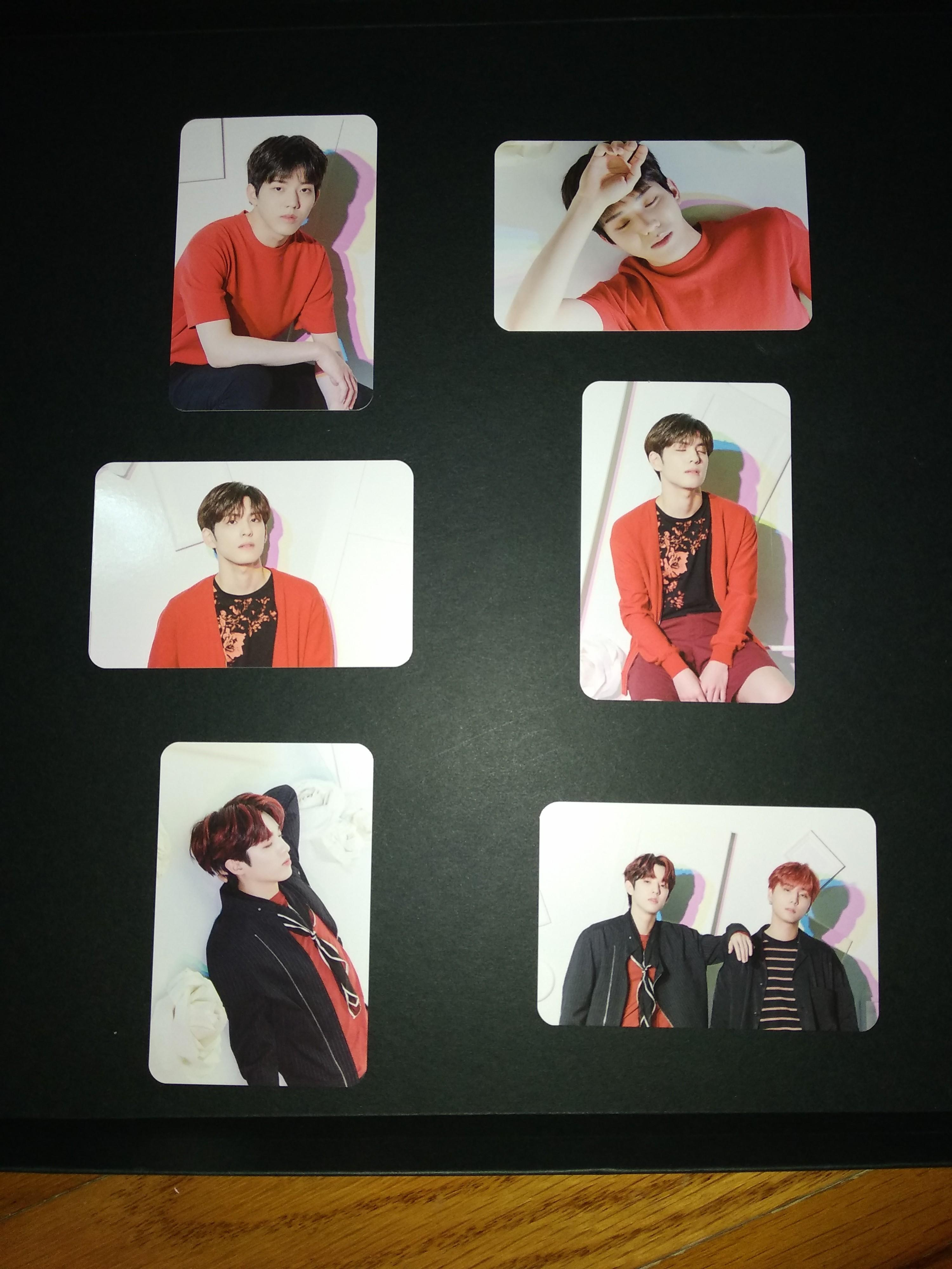 [ WTS ] DAY6 GRAVITY PHOTOCARDS