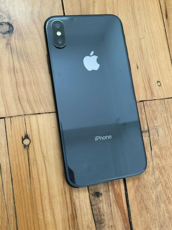 Apple iPhone X - 256GB - Space Grey (Unlocked) With Additional Accessories