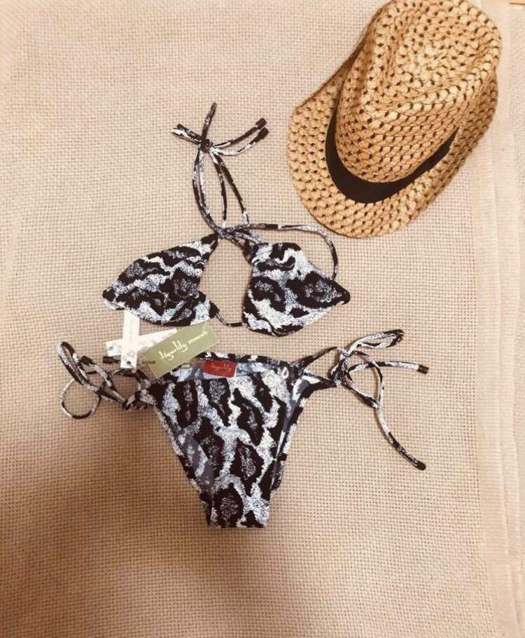 BNWT TIGERLILY ARGENTINA LEOPARD BIKINIS RRP$169 AUTHENTIC SELLING AS A SET