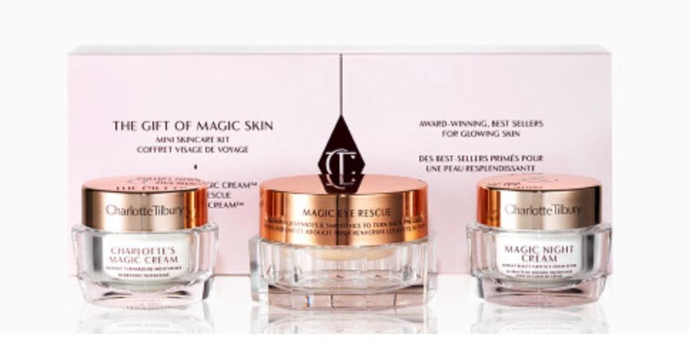 Charlotte Tilbury THE GIFT OF MAGIC SKIN SKINCARE KIT RRP$105