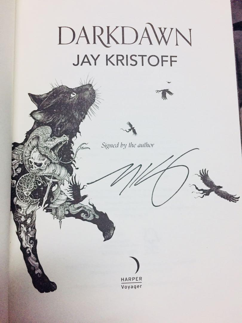 Darkdawn: Signed Edition - The Nevernight Chronicle 3 (Hardback) by Jay Kristoff