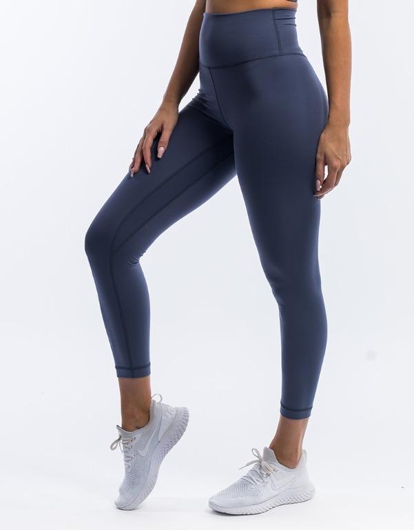 ECHT Range Leggings Periscope Blue Grey Extra Small Workout Yoga Exercise Pants