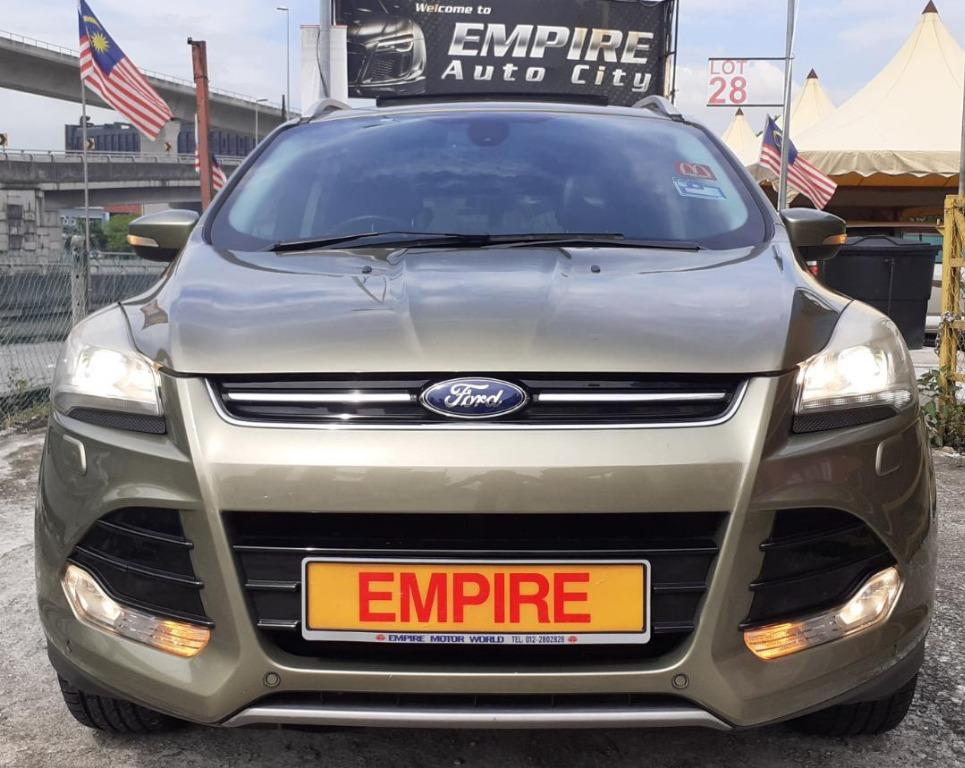 FORD KUGA 1.6 (A) GTDi ECOBOOST TITANIUM !! FULL SERVICE RECORD BY FORD !! STILL UNDER WARRANTY TILL 2020 !! 5 SEATER SUV !! CBU !! SPECIAL EDITION COME WITH PANORAMIC GLASS ROOF AND POWER BOOT !! AWD NEW FACELIFT !!  ( BXX 8140 ) 1 OWNER !!