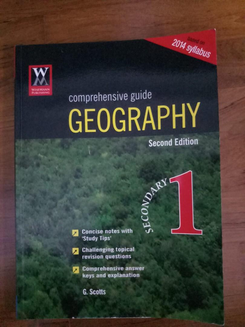 Geography guide book secondary 1