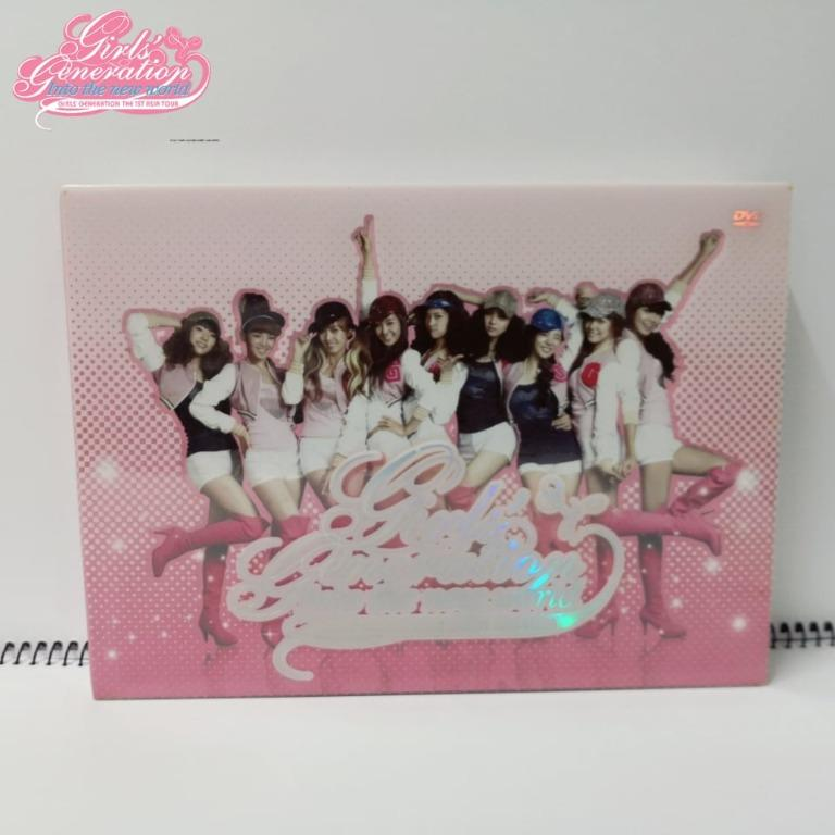 "Girl's Generation "" Into The New World "" DVD Album"
