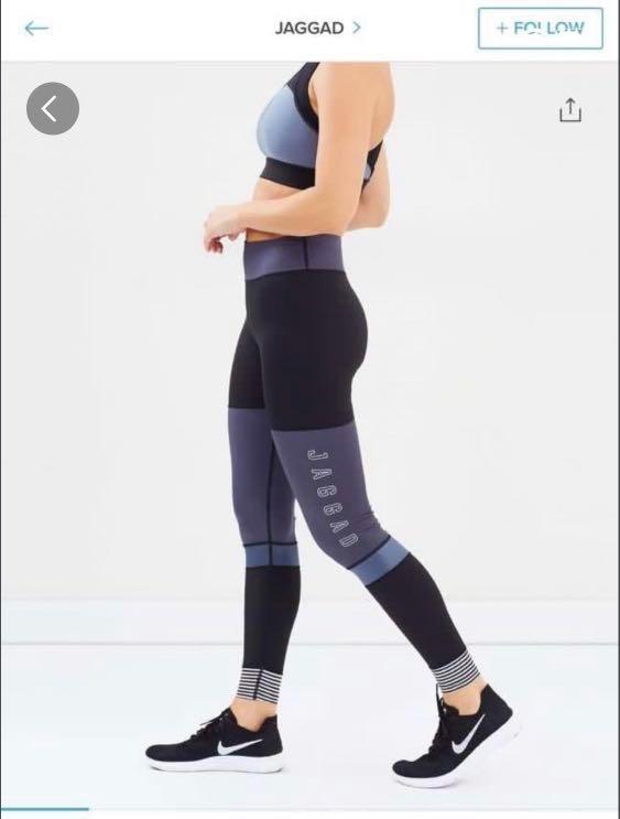 JAGGAD leggings size L - RRP $149 - #swapAU