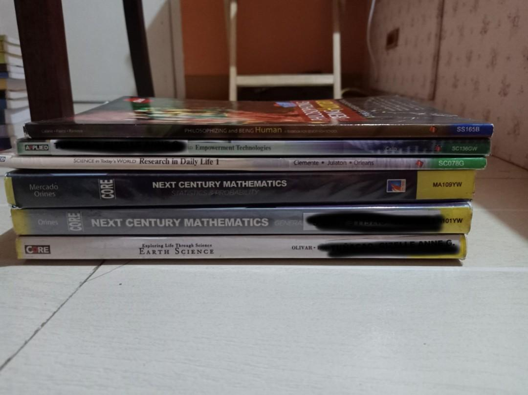 K-12 SENIOR HIGH SCHOOL BOOKS - SIBS and PHEONIX PUBLISHER FOR SALE